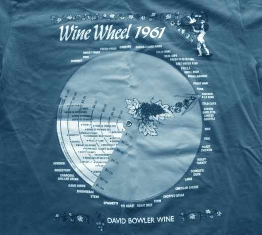 1961 Wine Wheel!